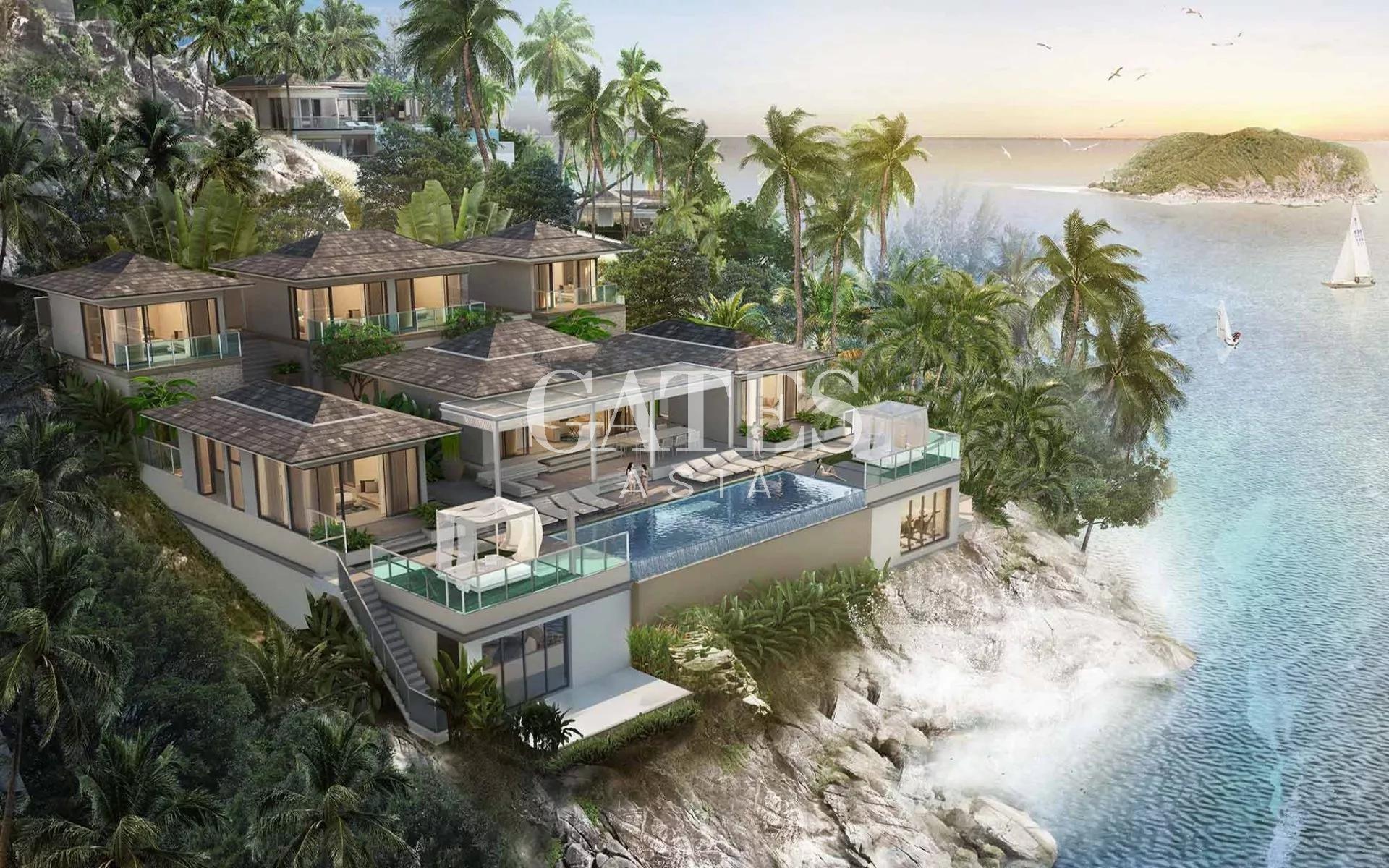 4-BEDROOM OCEANFRONT VILLA IN KOH PHANGAN