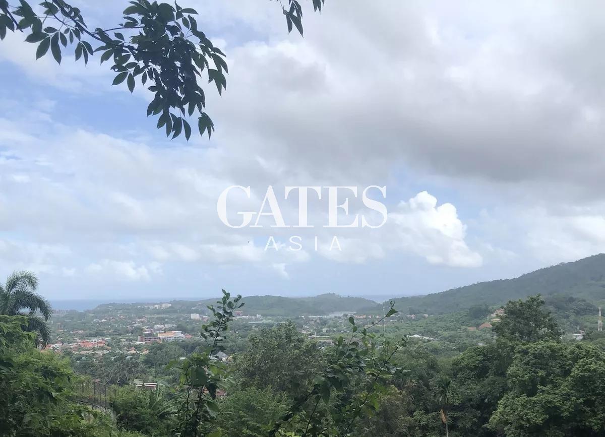 Rawai Sea View Land plots for sale